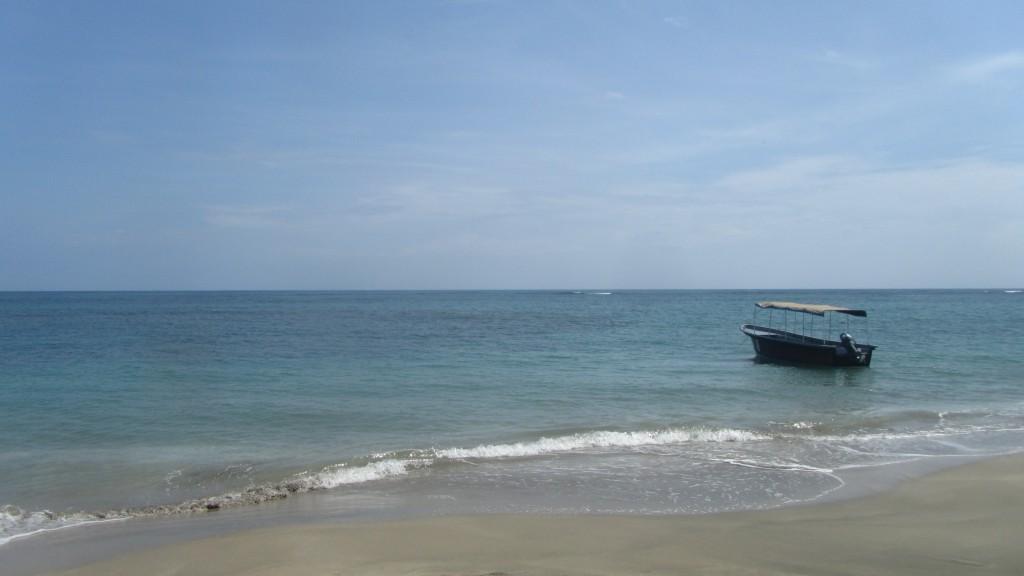 Boat in Puerto Viejo