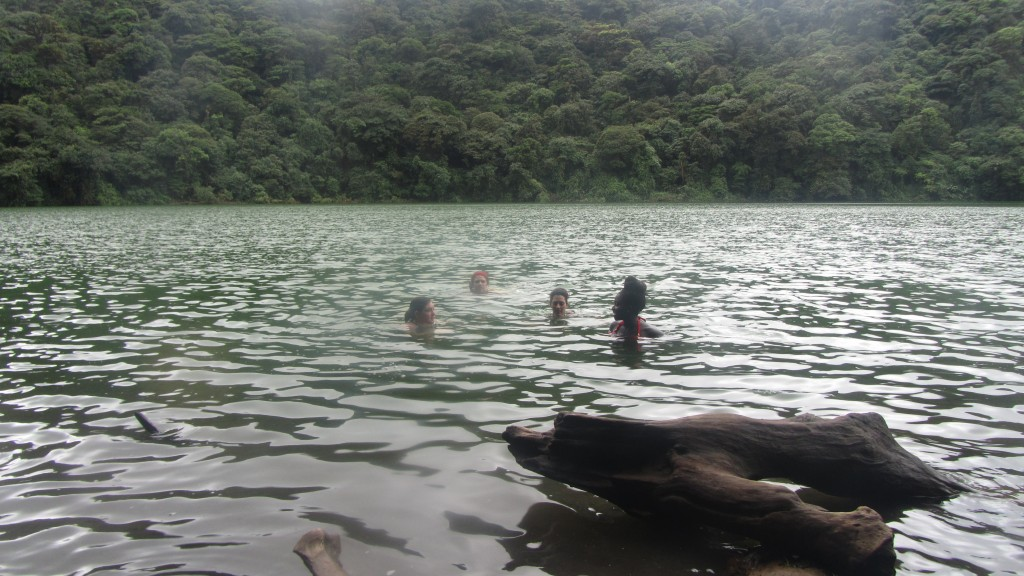 Crater Swimming in Arenal