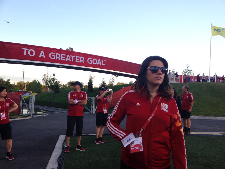 Volunteer at FIFA