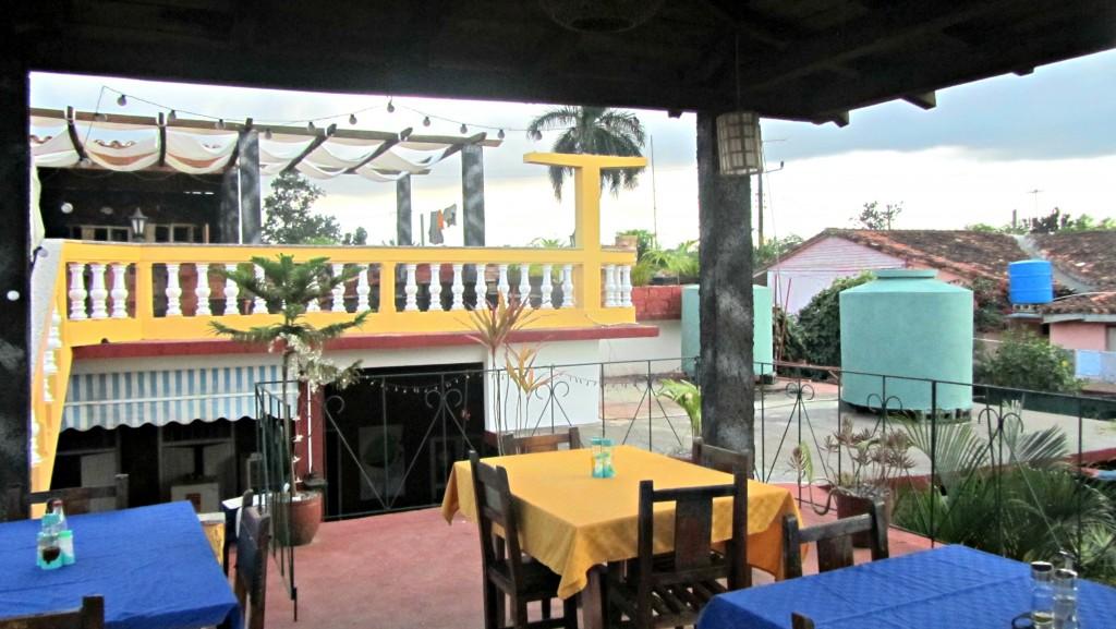 Double terrace