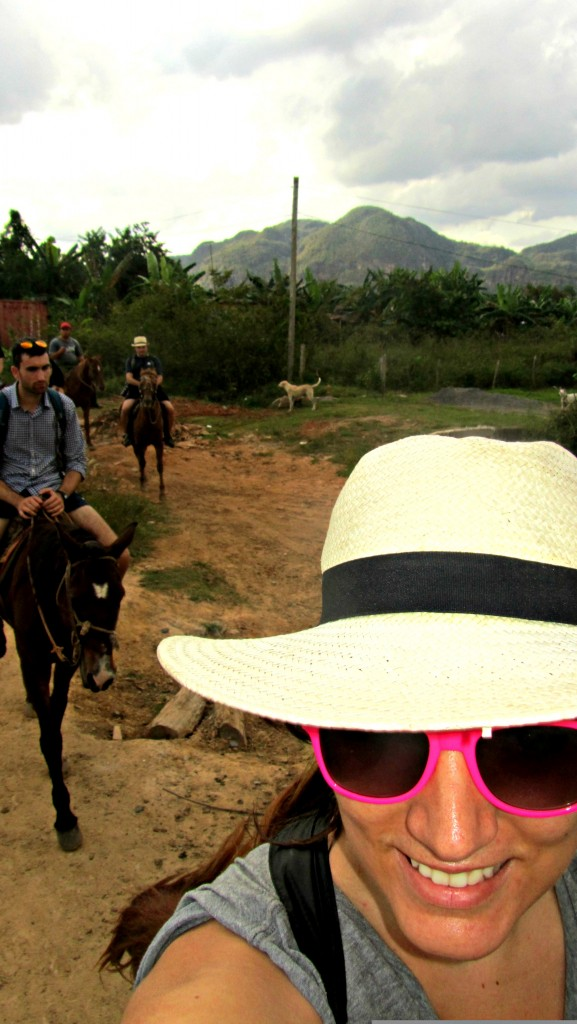 Selfies in Vinales