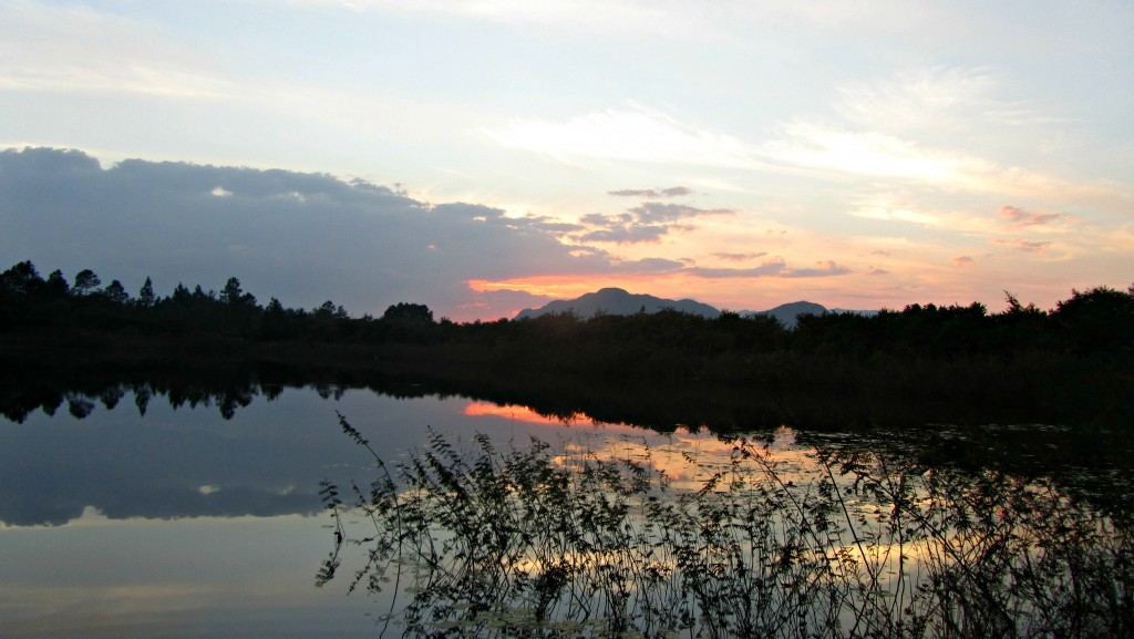 Sunset in Vinales