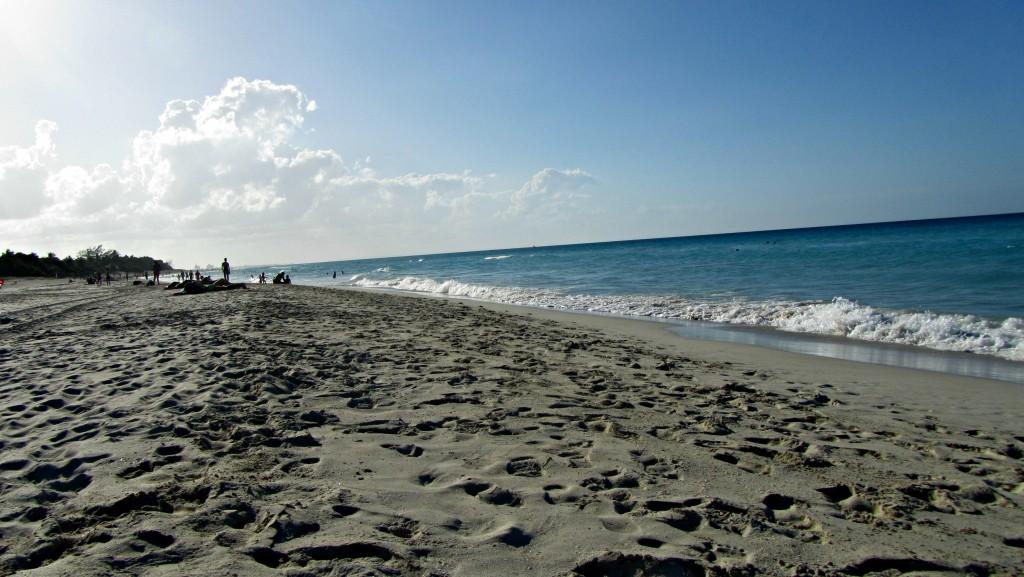 Varadero beach and ocean