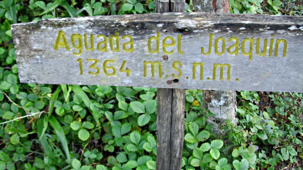 Base camp at Pico Turquino