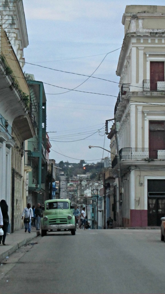 CLoudy streets of matanzas
