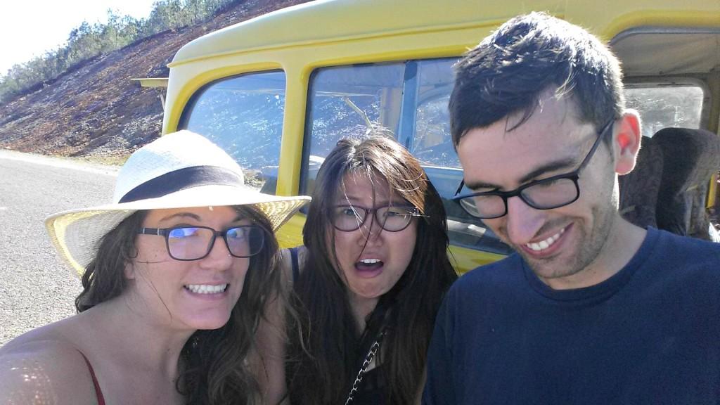 Car breaks down. Selfiiiie in baracoa