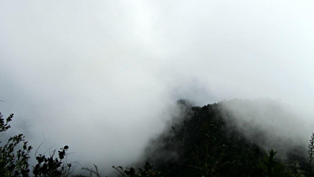 Clouds on Pico Turquino