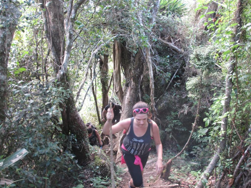 Climbing Pico Turquino