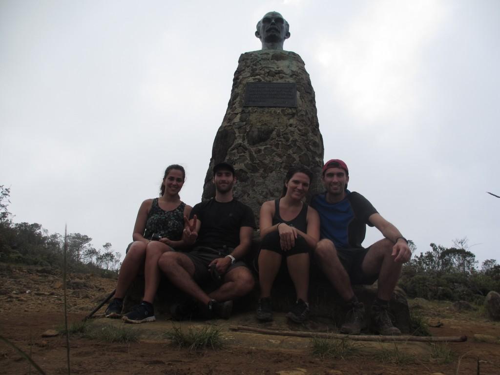 Top of Pico Turquino