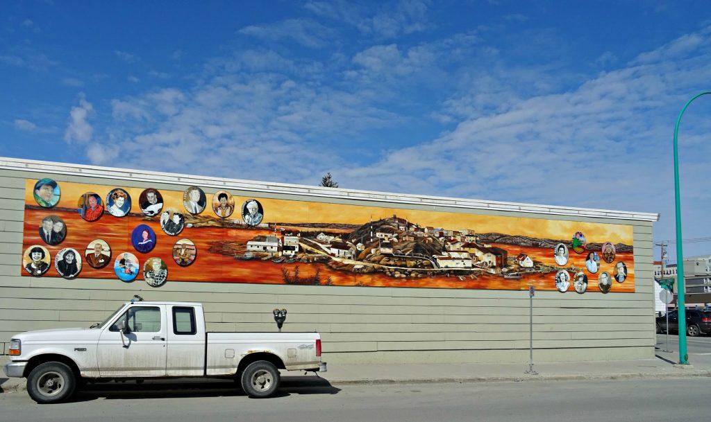 Streer art truck