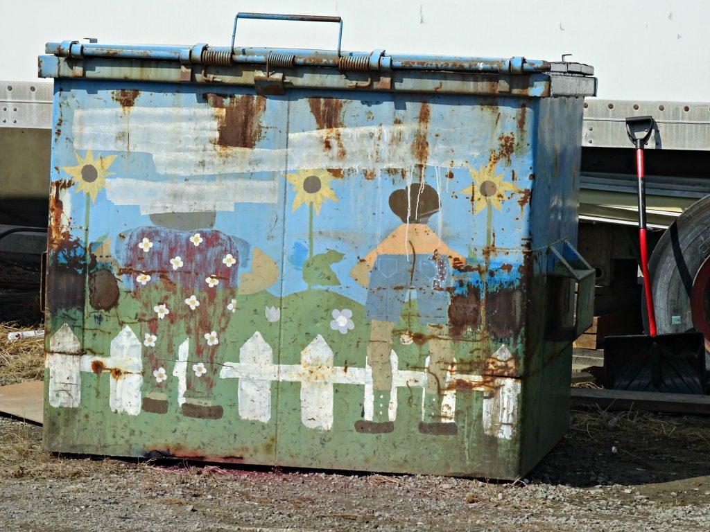 Street art garbara